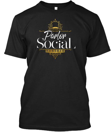 Parlor Social Black T-Shirt Front