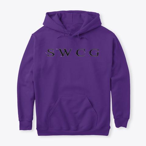 The Potter Purple T-Shirt Front