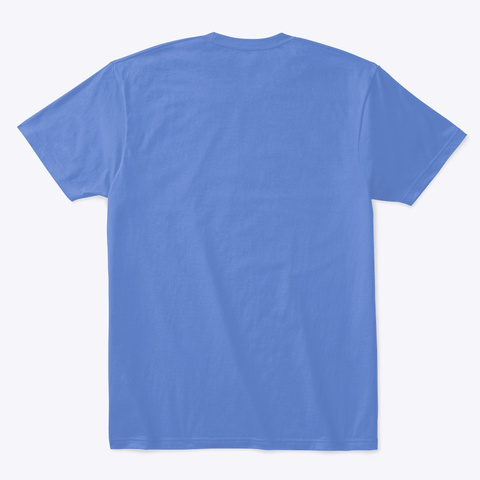 Can't People Heathered Royal  T-Shirt Back