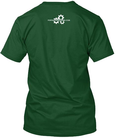 Forthosewhogrind.Com Forest Green  áo T-Shirt Back