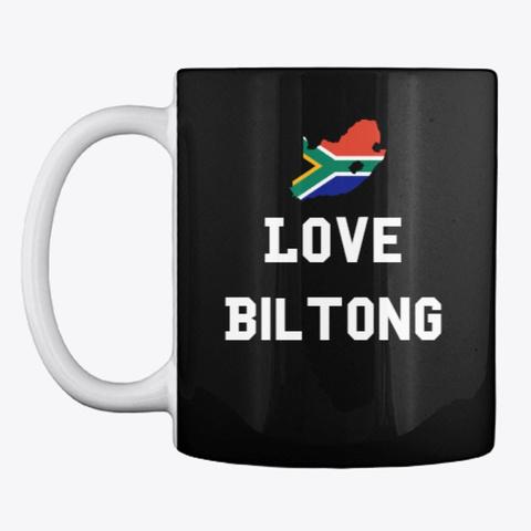 Love Biltong Black T-Shirt Front