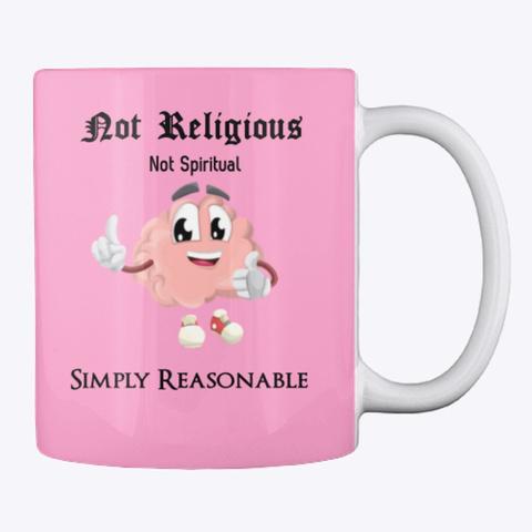 Simply Reasonable Mug Pink Camo T-Shirt Back