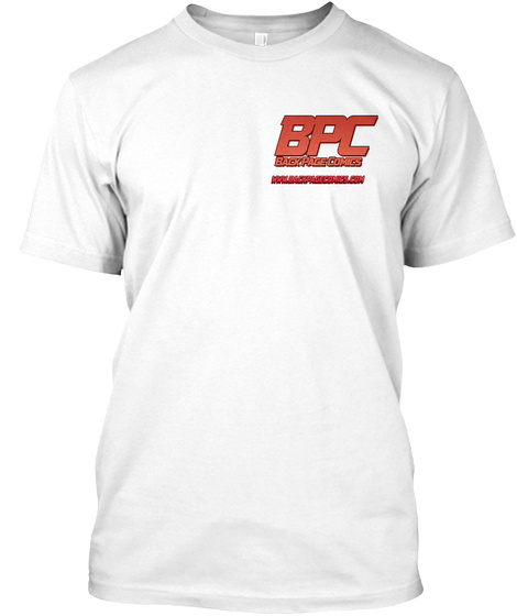 Back Page Comics Tee White T-Shirt Front