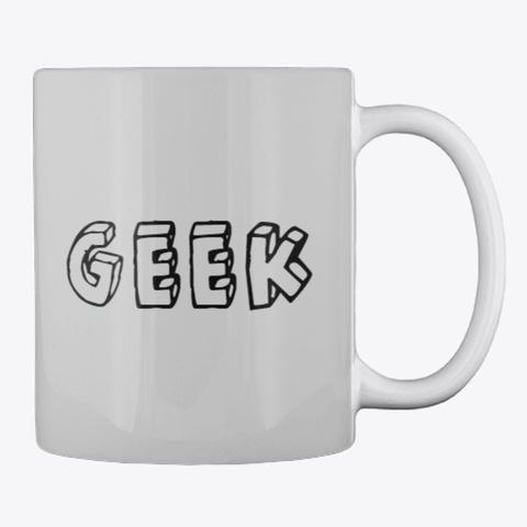 Ratchet And Pawl Engineering Geek Mug Light Grey T-Shirt Back