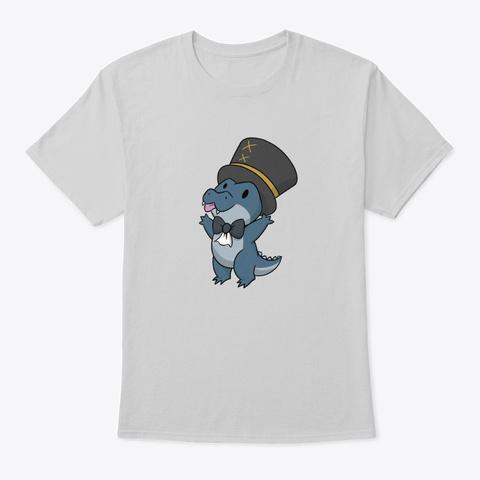Blep Light Steel T-Shirt Front