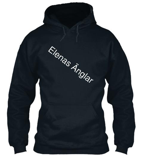 Elenas änglar French Navy T-Shirt Front