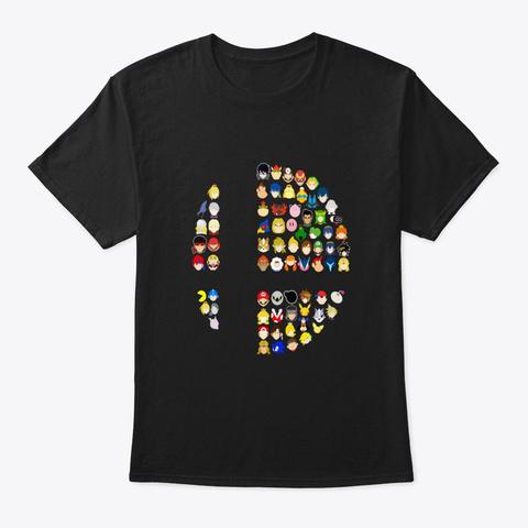 S.B  Ultimate T Shirt Black T-Shirt Front