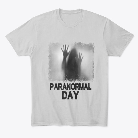 May 3rd   Paranormal Day Light Heather Grey  T-Shirt Front