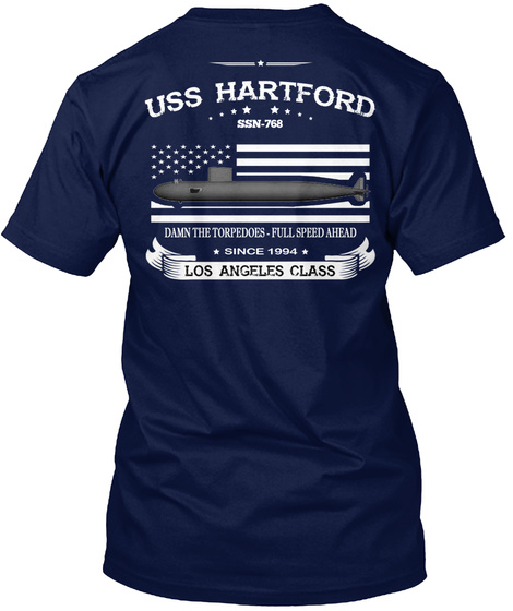 Ssn768   Limited Edition   Ending Soon Navy T-Shirt Back