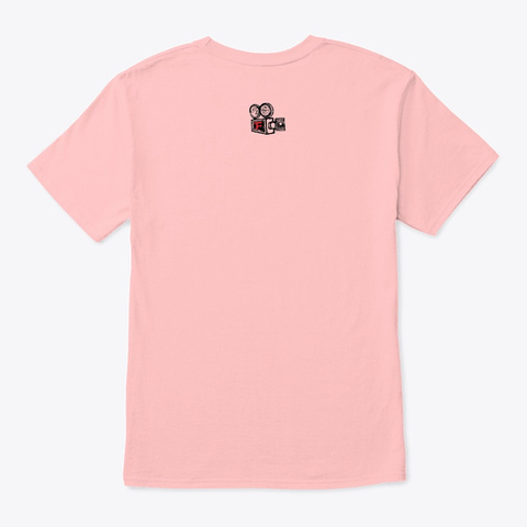 'the Love Market' Official Merch Pale Pink T-Shirt Back