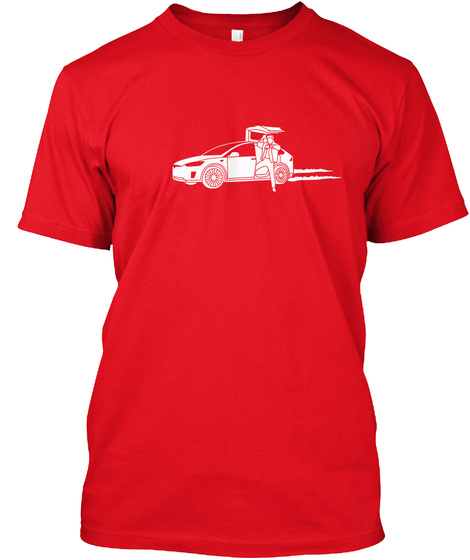 Marty X [Usa] #Sfsf Red T-Shirt Front