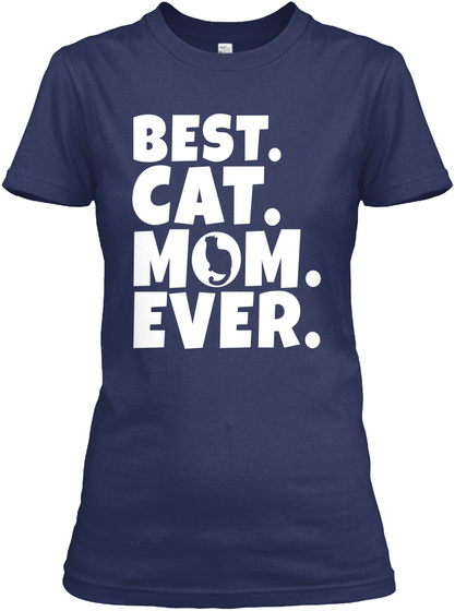 Best Cat Mom Ever Gift Front