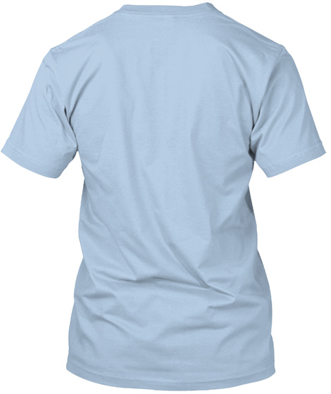 Alchemical Mountain Baby Blue T-Shirt Back
