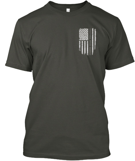 Correctional Officer Smoke Gray T-Shirt Front
