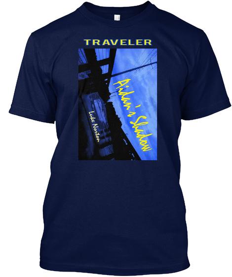 Traveler Navy T-Shirt Front
