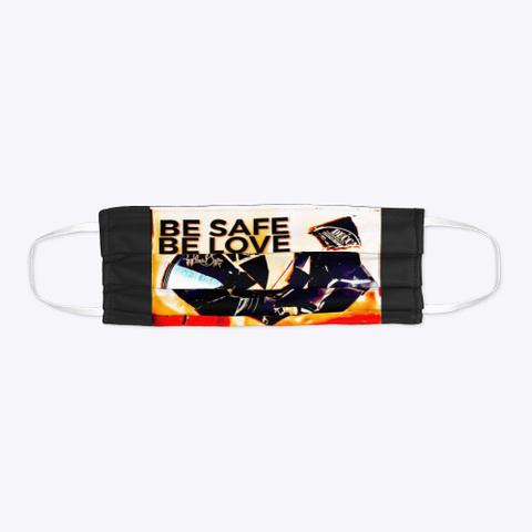 Apsb   Be Safe   Be Love Black T-Shirt Flat