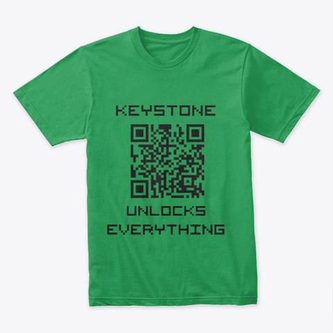 The Keystone Kelly Green T-Shirt Front