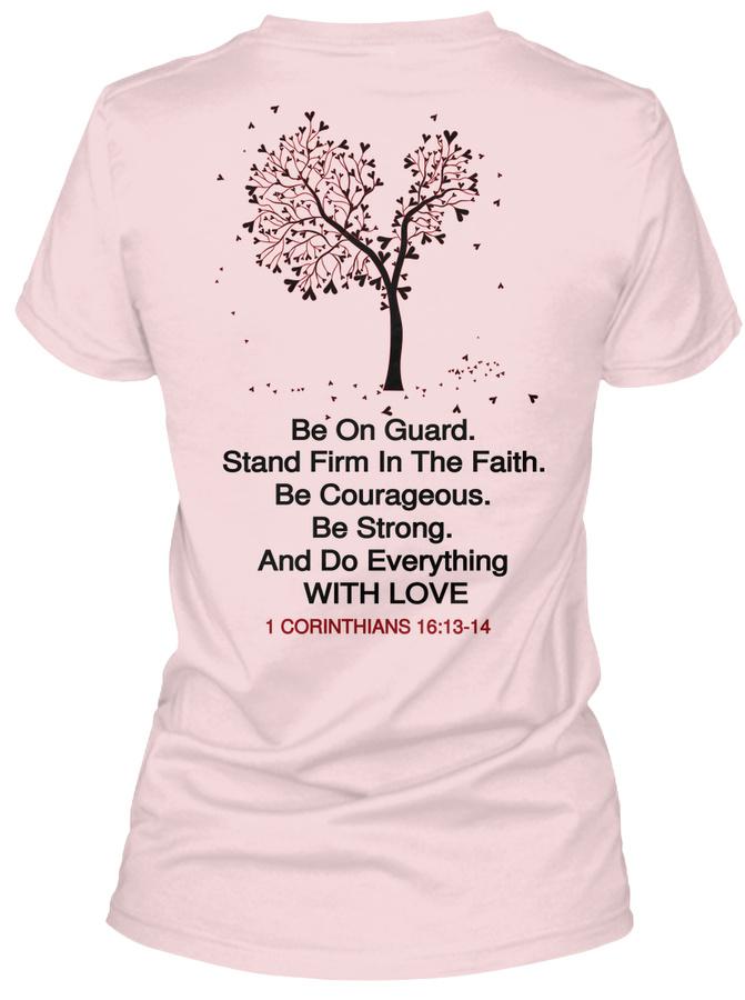 1 Corinthians 1613-14 - Love Unisex Tshirt
