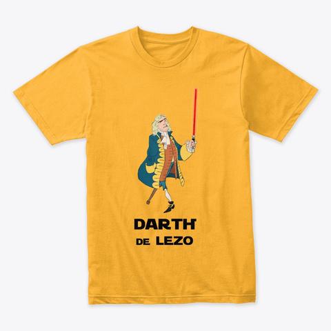 🤺 Blas De Lezo (Laser)   Calidad⭐⭐⭐⭐⭐ Gold T-Shirt Front