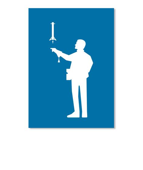 Falconer 2 Man Sticker [Int] #Sfsf Royal Blue Sticker Front