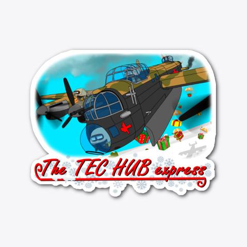 The Tec Hub Express Standard T-Shirt Front