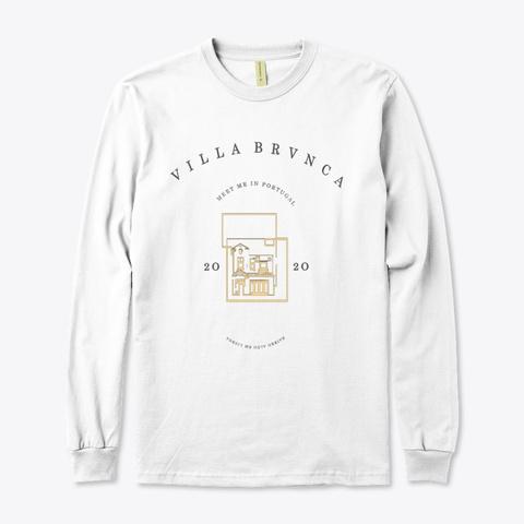 Bairro Alto White T-Shirt Front