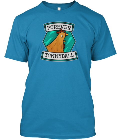 Forever Tommyball Azure T-Shirt Front