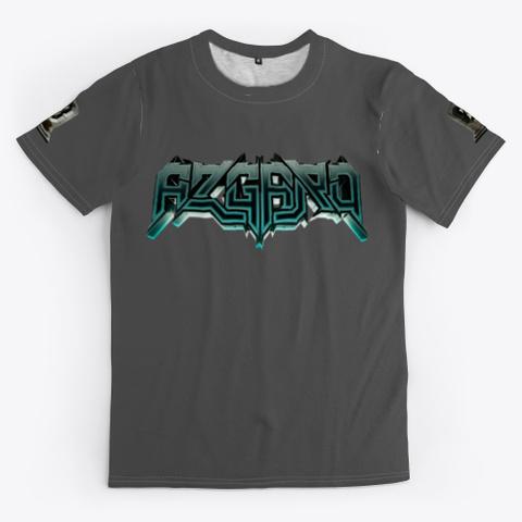 Azgard Music Merch Charcoal T-Shirt Front