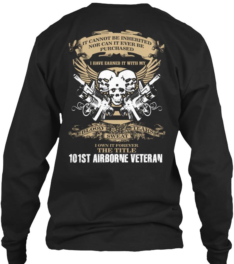 [Ltd. EDITION] 101ST AIRBORNE VETERAN SweatShirt