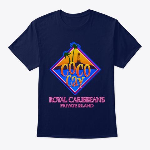 Cruise Ship Swag Navy T-Shirt Front