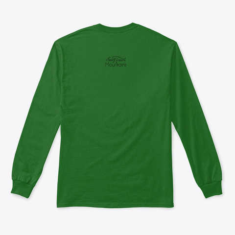 Camping Fun! Irish Green T-Shirt Back