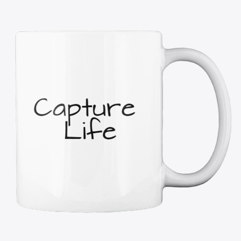 Ayp   Capture Life White T-Shirt Back