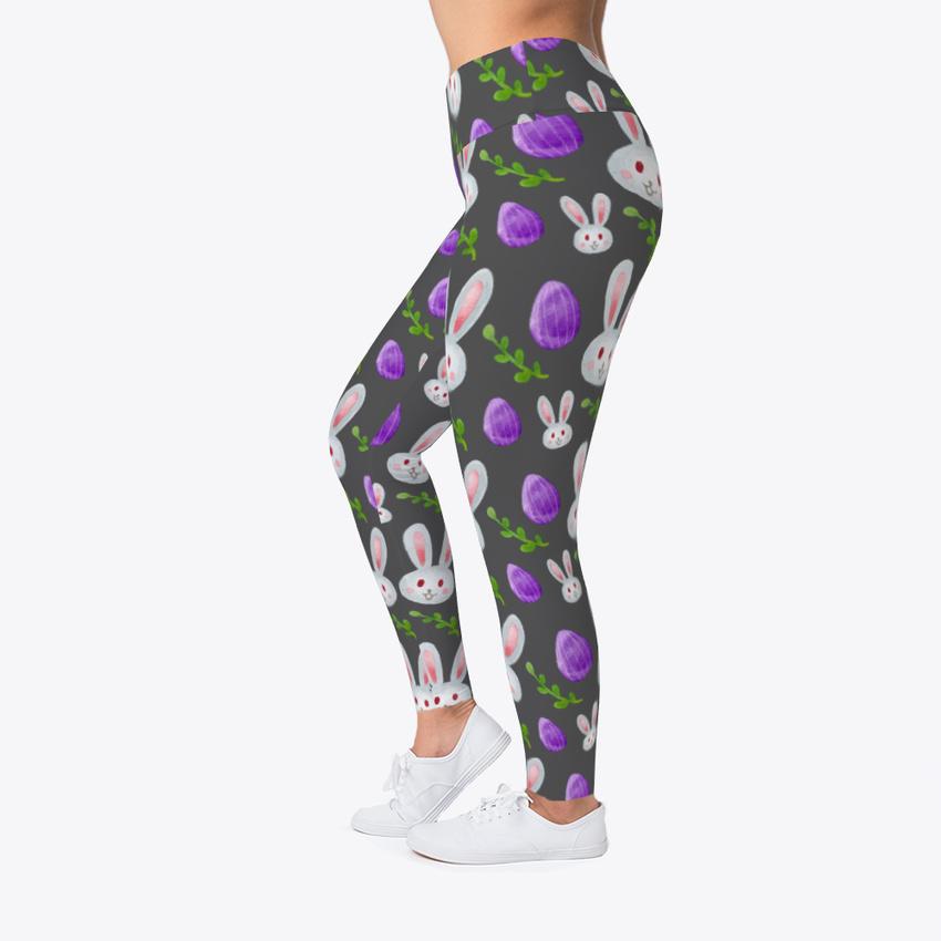 Off-the-rack Easter Egg Women/'s Print Fitness Stretch *Leggings* Yoga Pants