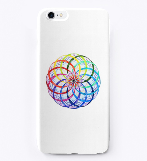 Rainbow Flower Of Li Fe Standard T-Shirt Front