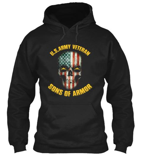 Sons Of Armor Black Sweatshirt Front