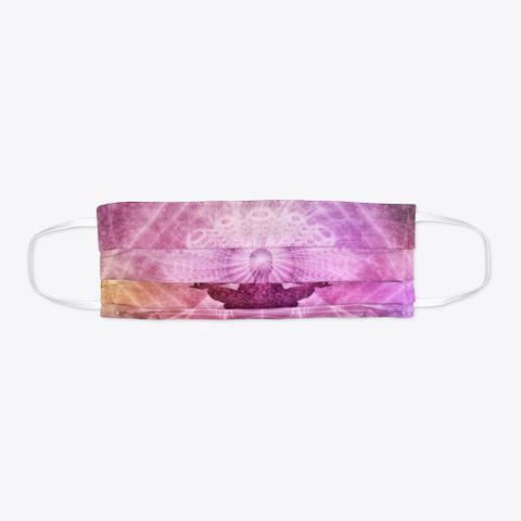Meditation Face Mask Standard T-Shirt Flat