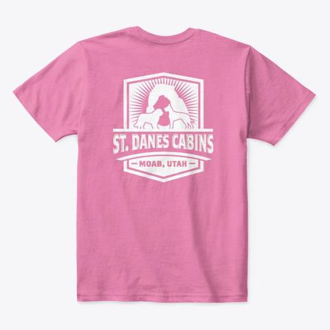 St Dane's Swag True Pink  T-Shirt Back