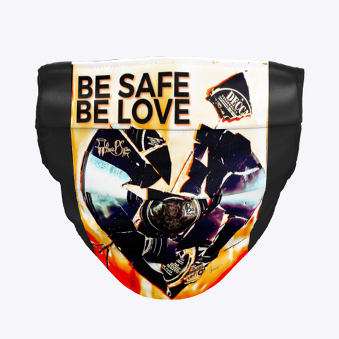 Apsb   Be Safe   Be Love Black T-Shirt Front