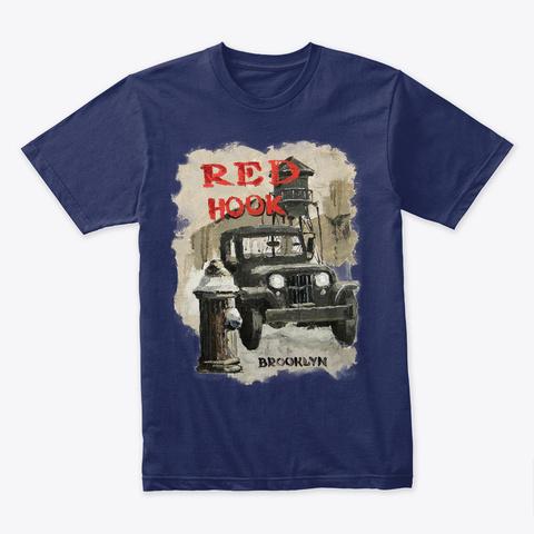 Viktor Shvaiko Willis Midnight Navy T-Shirt Front