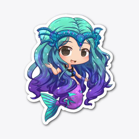 Chibi Mermaid Art  Standard T-Shirt Front