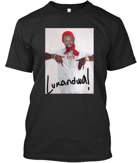 Lukandwa! Black T-Shirt Front