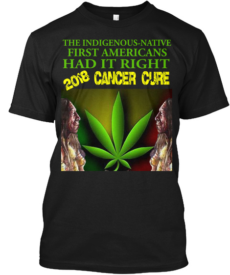 The Cancer Cure T Shirt Black T-Shirt Front