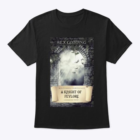 A Knight Of Feylore Black T-Shirt Front