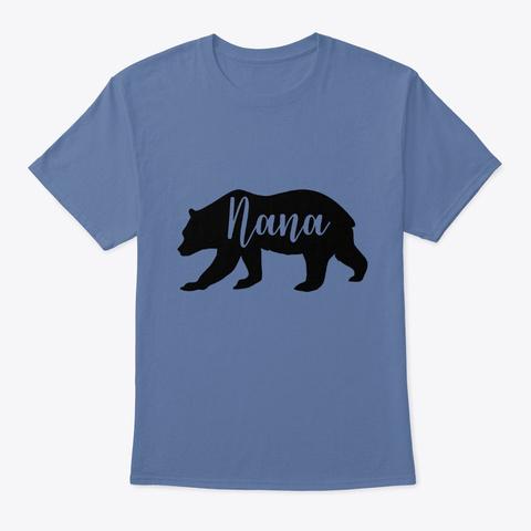 Nana Denim Blue T-Shirt Front