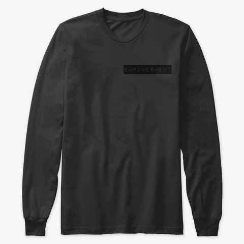 "Khaotic ""Empowerment""  Black T-Shirt Front"