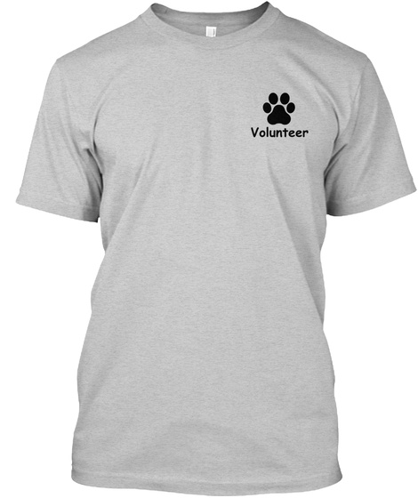 Volunteer Light Steel T-Shirt Front