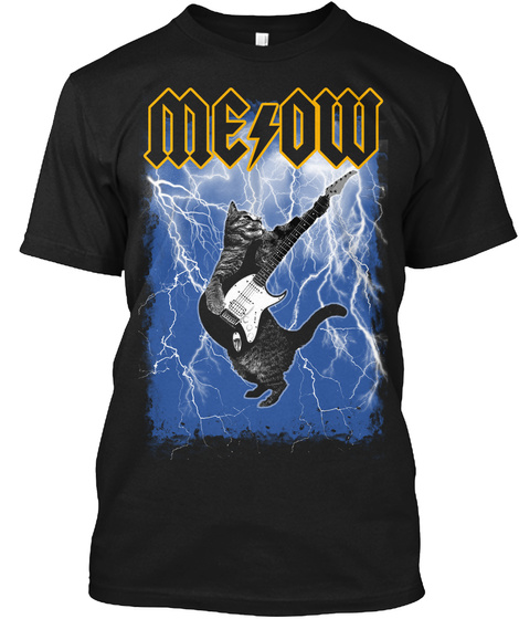 3ef68afbaf Me/Ow Thunderstruck - meow Products from Metal Cats | SLOGOMAN