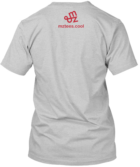 Happy/Sad Heart Light Steel T-Shirt Back