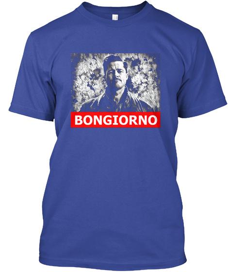 Bongiorno Deep Royal T-Shirt Front