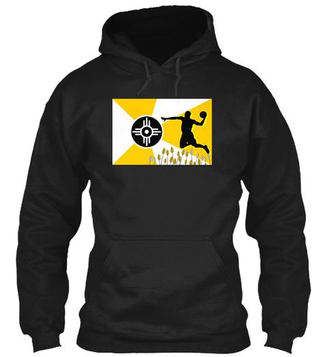 The Wichita State Baller! Black Sweatshirt Front